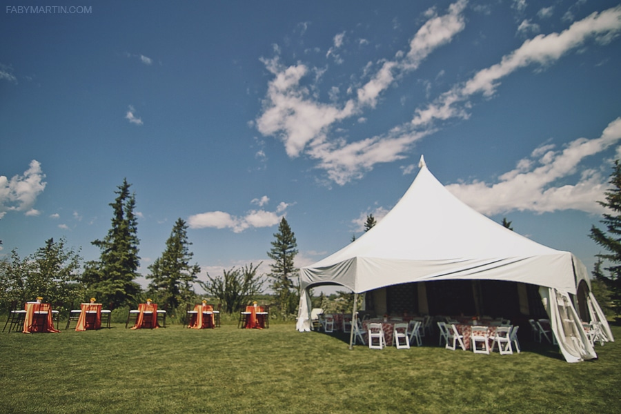 Outdoor event tent special in Calgary